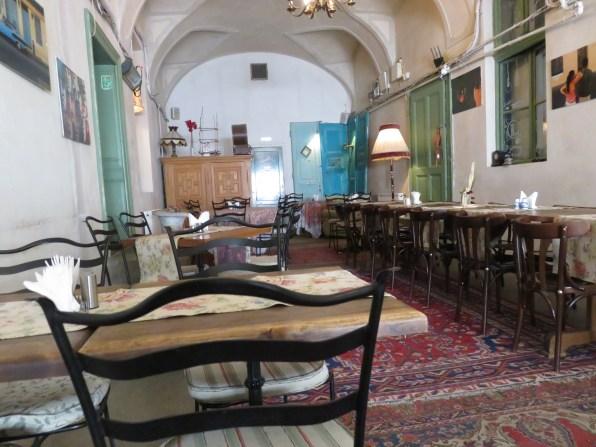 Inside Camino