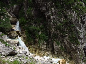 Waterfall in the Cheia river