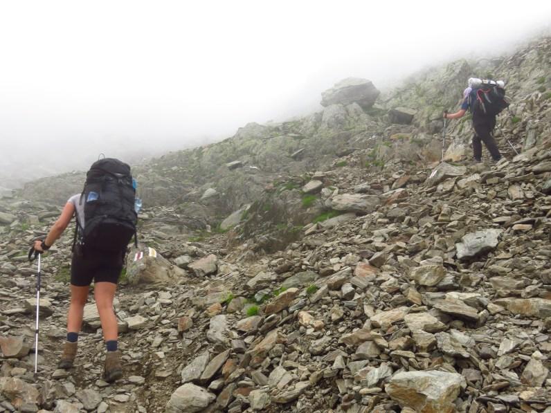 Climbing Negoiu
