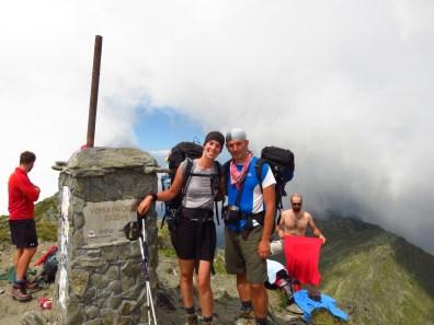 Negoiu Peak, 2535m. Never mind the guy in the background. ;-)