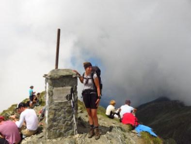 Negoiu, 2535m, Romania's second-highest peak.