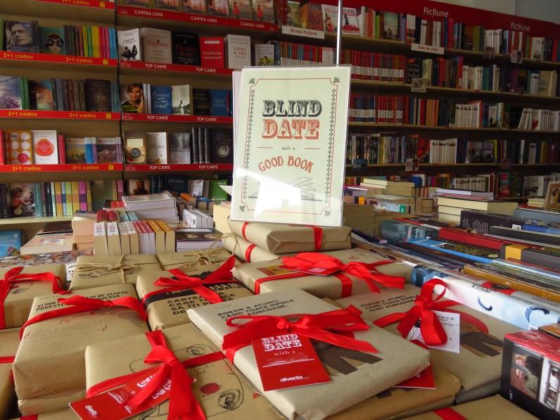 Blind date with a book at Schiller Buchhandlung, Piata Mare 7