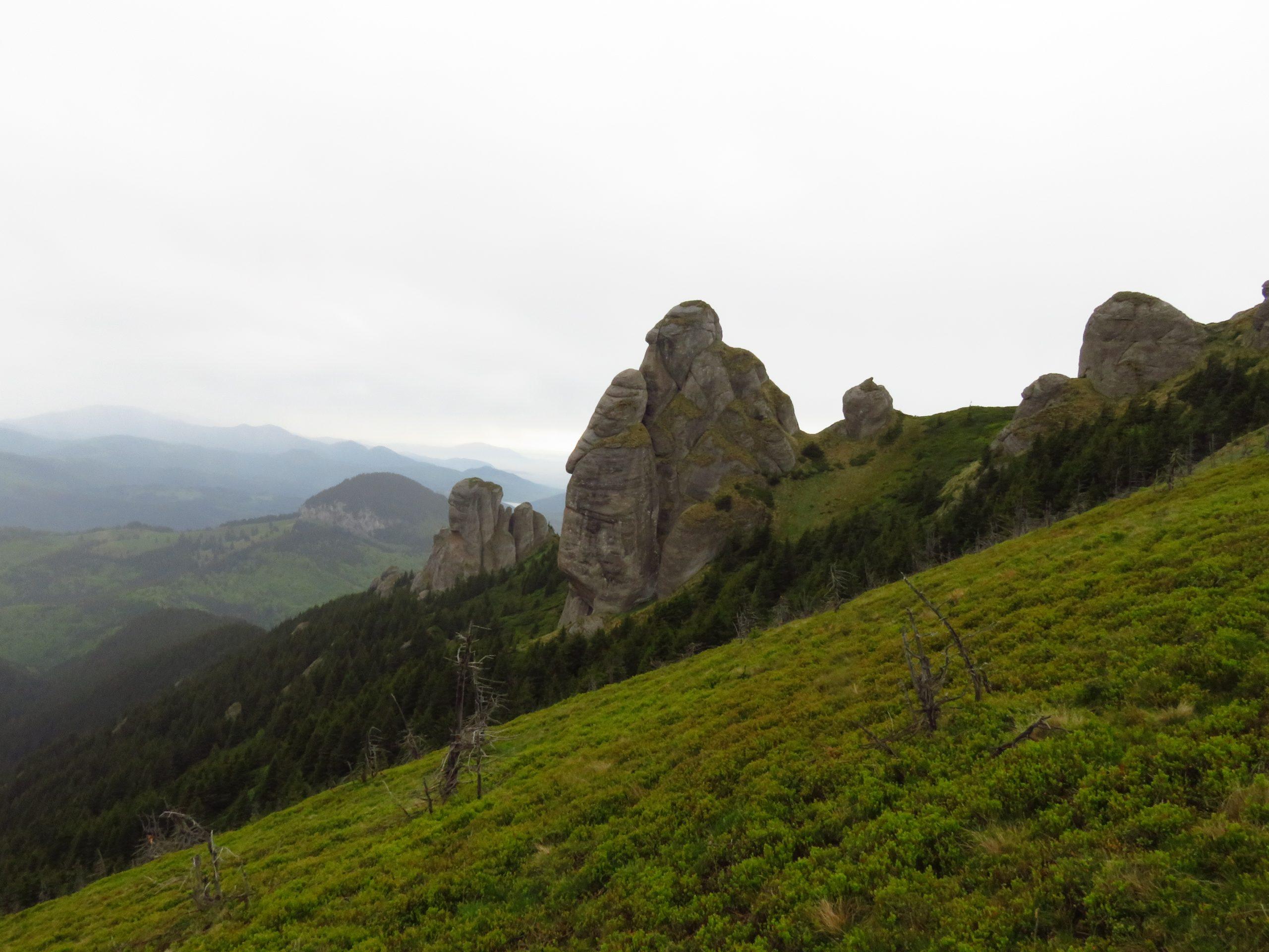 ciucas mountains romania turnul lui goliat