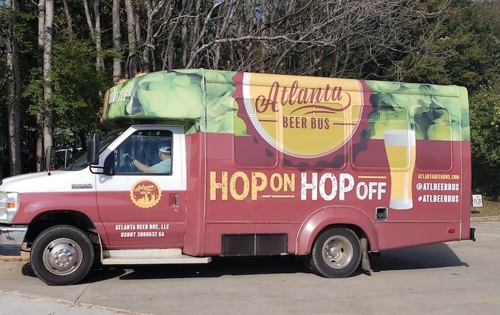 atlanta beer bus roamiliious