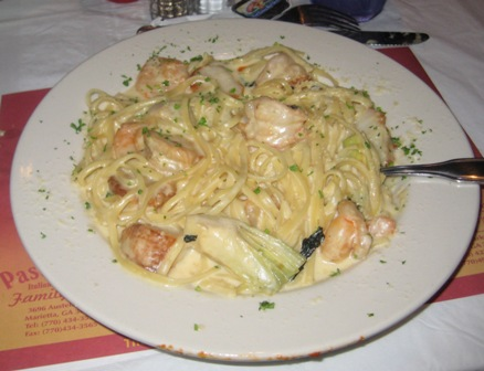 MFM Shrimp and Scallop Surpeme Pasta