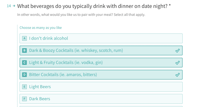 date night questionnaire planning - roamilicious