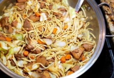 guyanese caribbean chow mein recipe