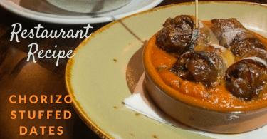 recipe chorizo stuffed dates