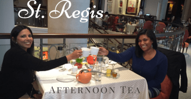 st regis afternoon tea review