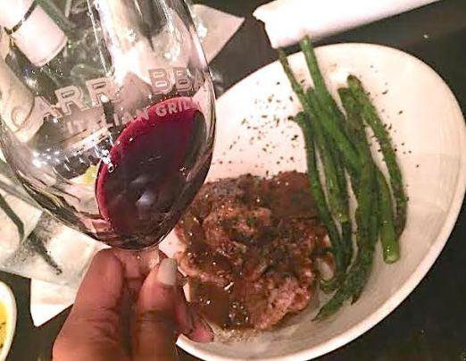 carrabas wine dinner four course