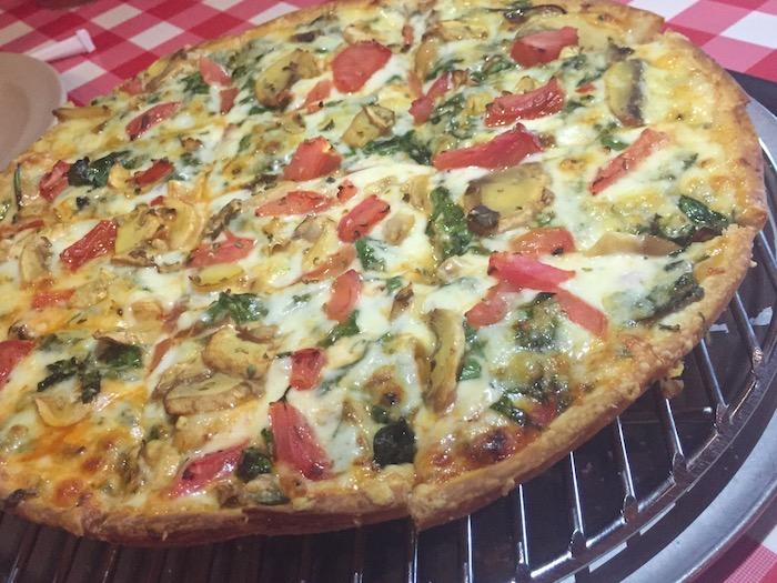 chicago thin crust pizza aurelios