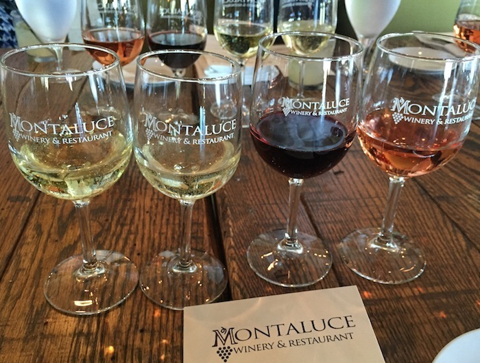 Montaluce winery in North GA