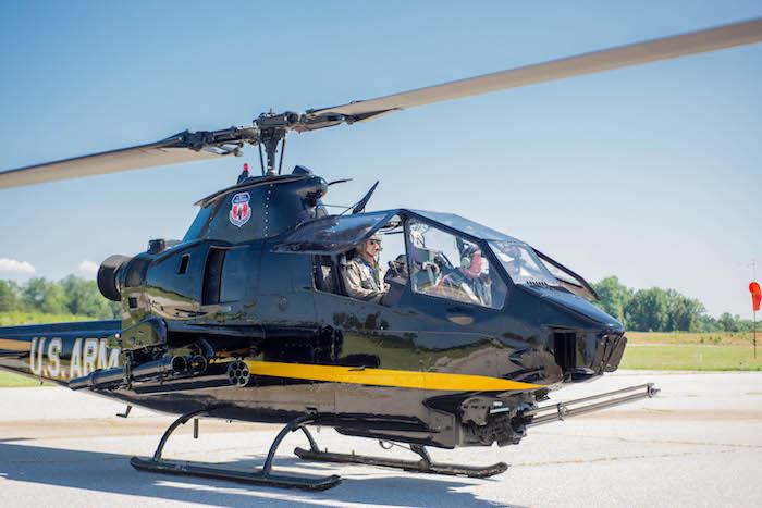 vietnam era helicopter ride