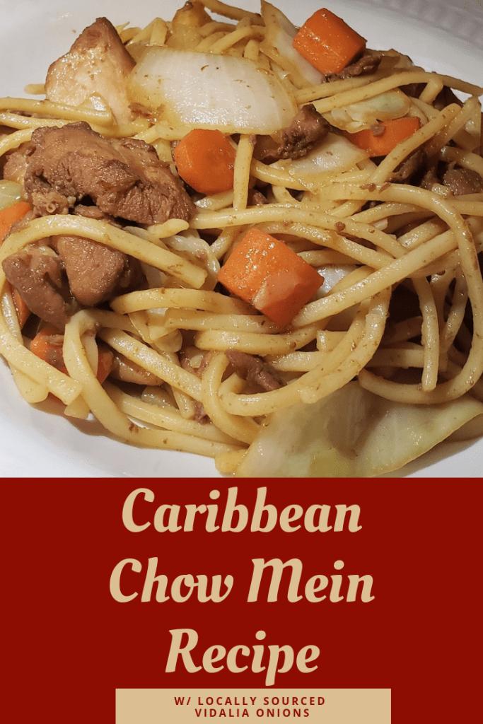 Easy weeknight Chow Mein recipe with a twist