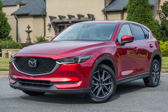 Mazda CX5 car review 2017