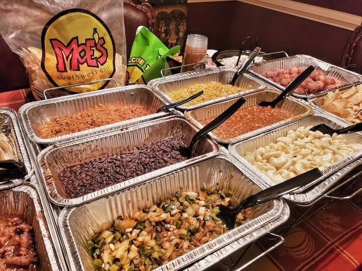 moes catering review roamilicious