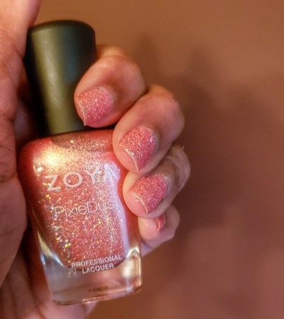 zoya pixie dust nail polish Roamilicious