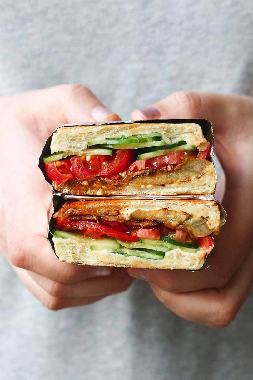 Eggplant Sandwich Recipe