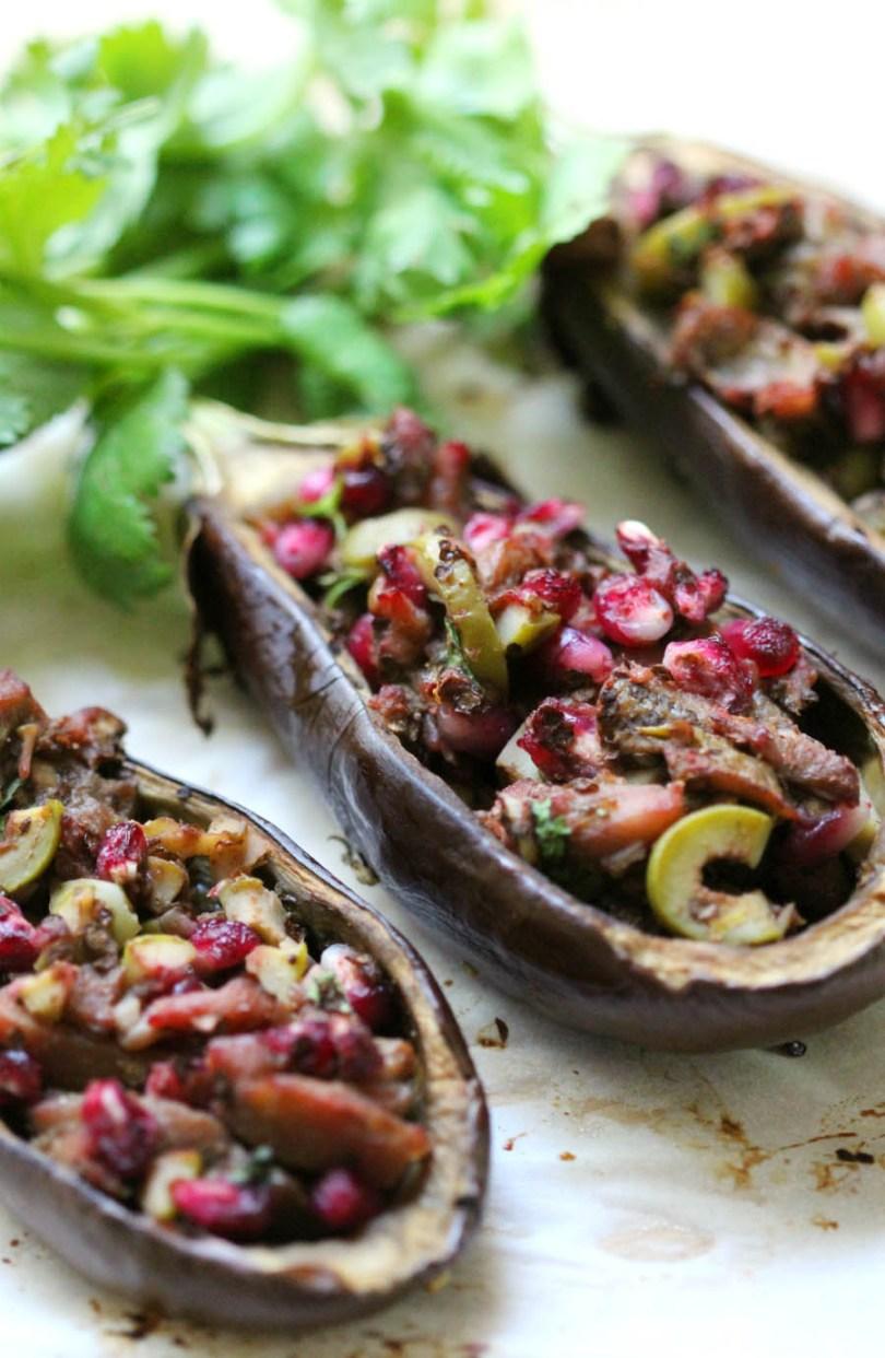 Twice Baked Eggplant Recipe
