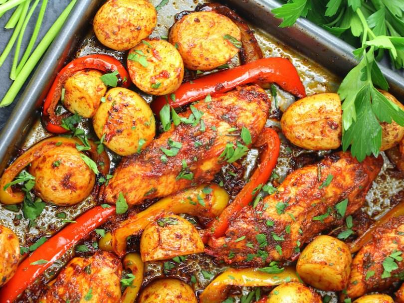 Harissa-Chicken-Sheet-Pan-Dinner-recipe