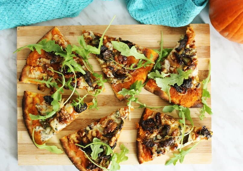 Blue-Cheese-Pizza-with-Pumpkin-Recipe