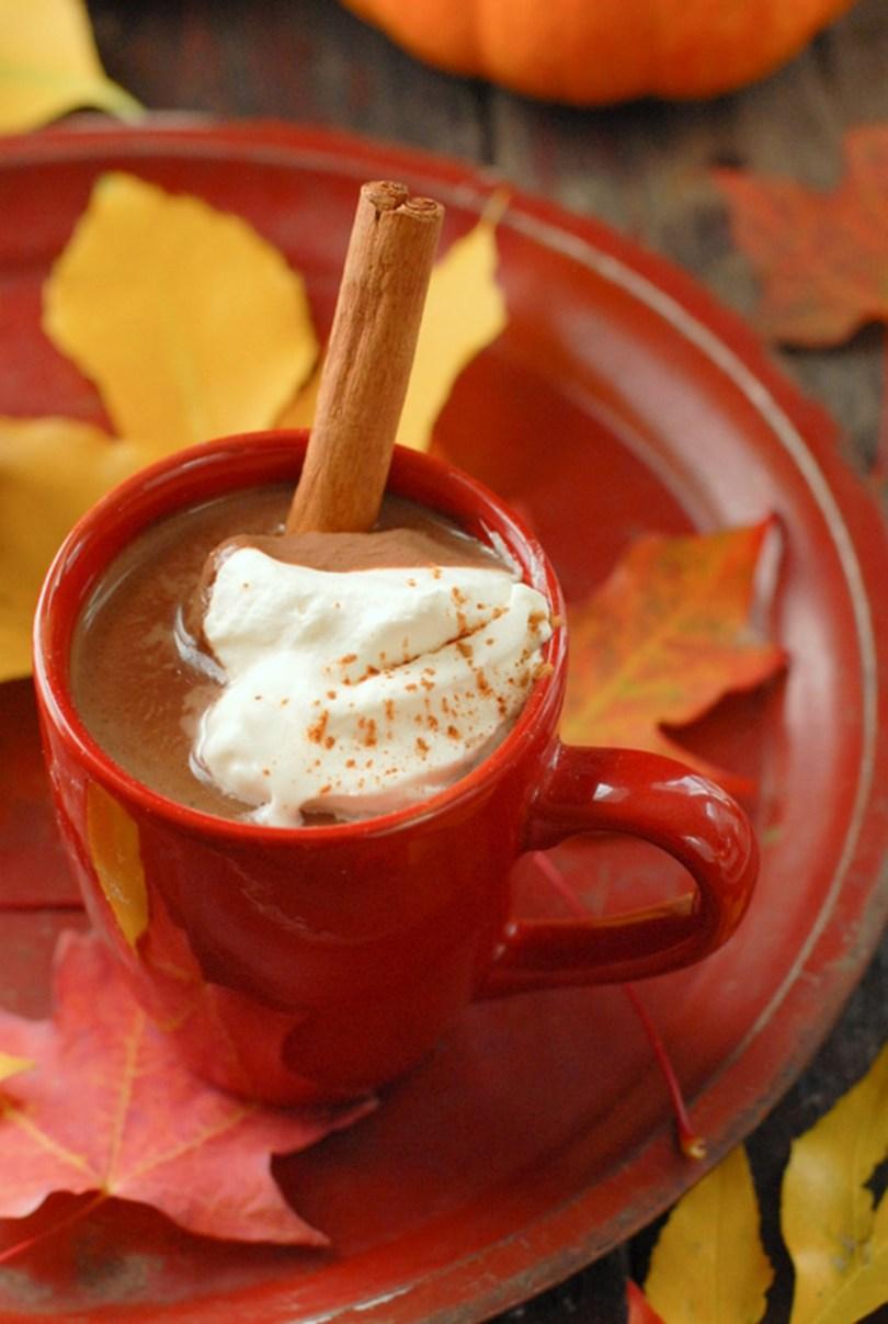 Pumpkin Mexican Hot Chocolate