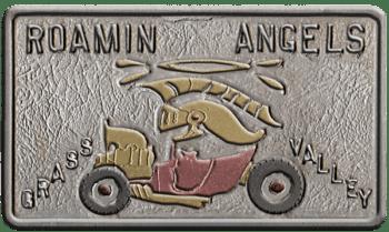 Roamin Angels 1962 Car Plaque