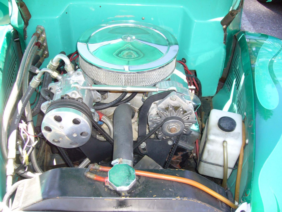 1940 Ford Coupe engine -Bill R.
