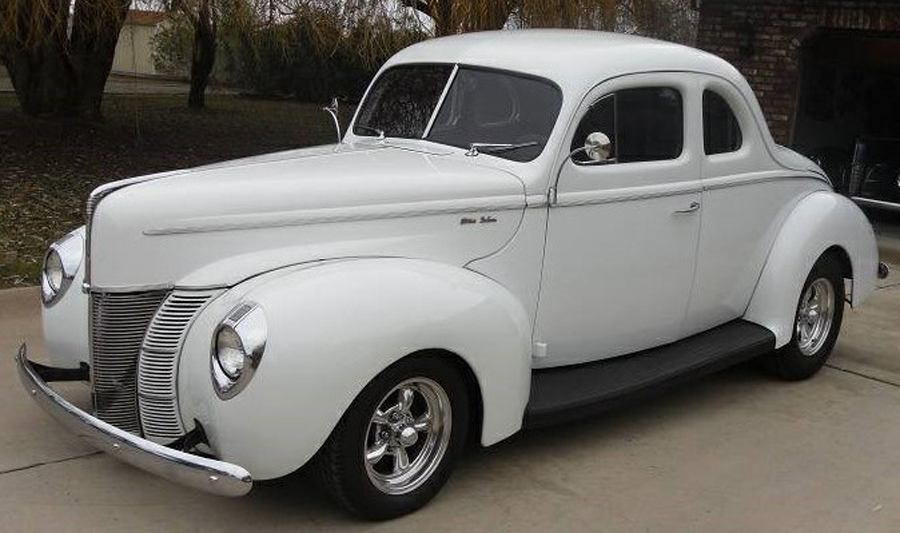 1940 Ford Deluxe Coupe - Dave G.