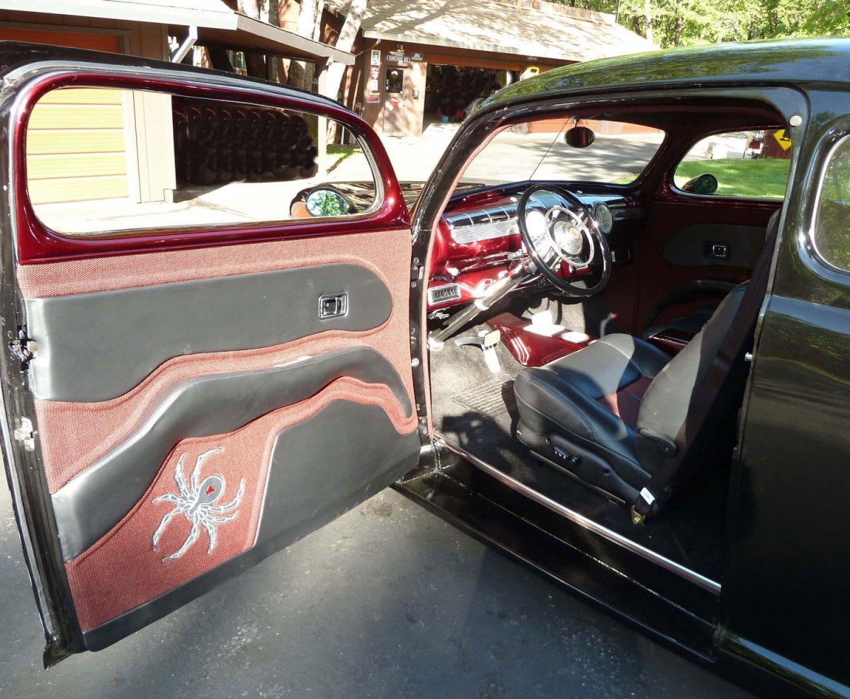 """1946 Ford """"Black Widow"""" -interior -Lanny N."""