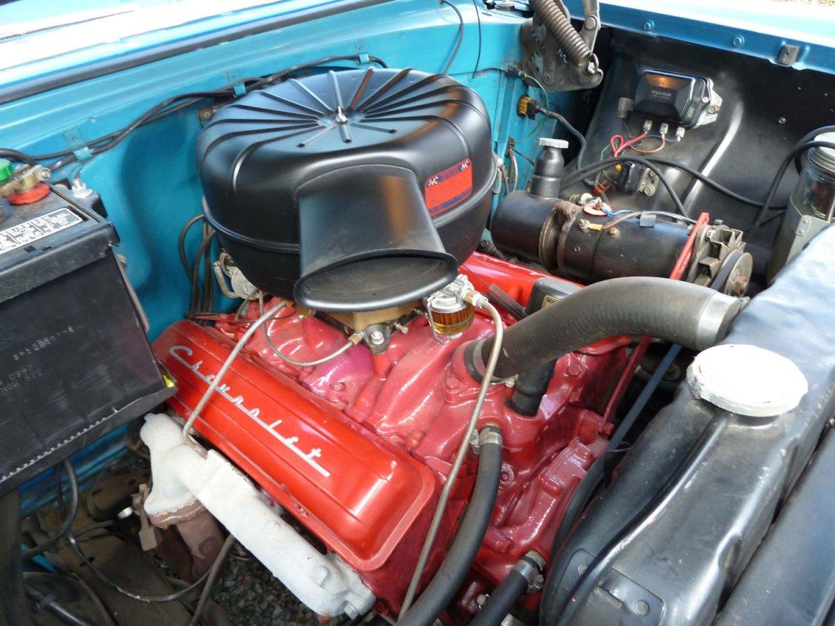 1956 Chevy Bel Air Nomad-Engine-Jim & Elaine D.