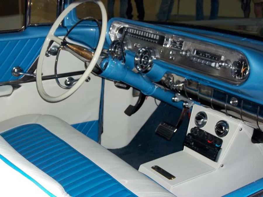1957 Pontiac StarChief dash - Diane & Dave B.