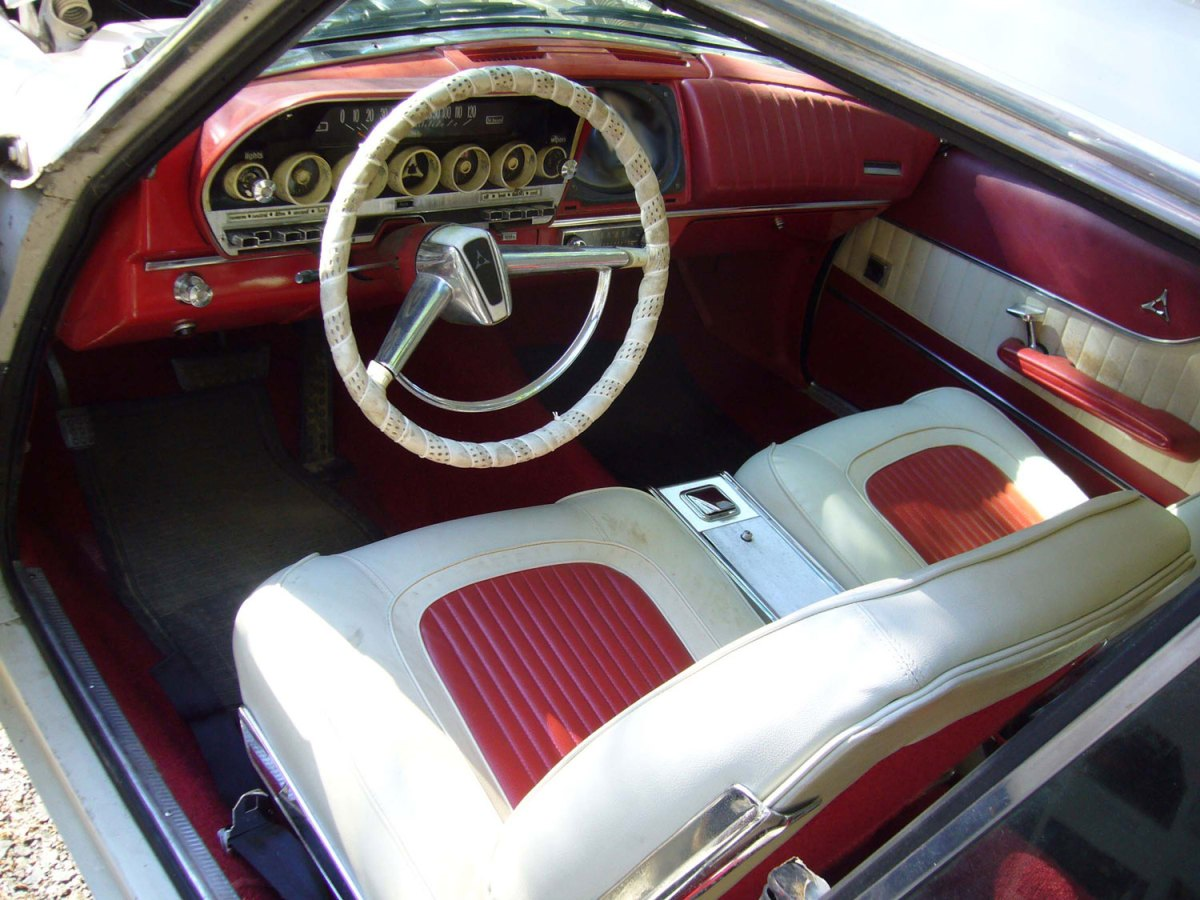 1962 Dodge Polara 500 interior - Greg M.