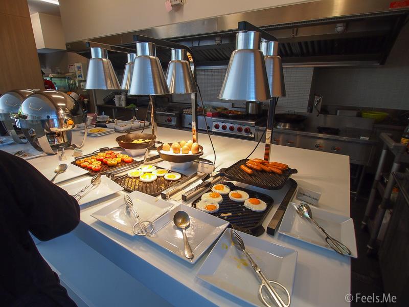 Hyatt Place Patong Western breakfast selection