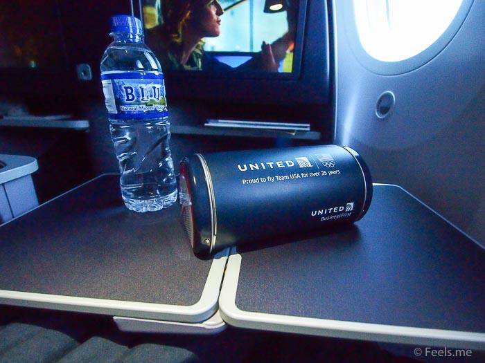 United UA2 SIN SFO: Team USA Amennity Metal Kit