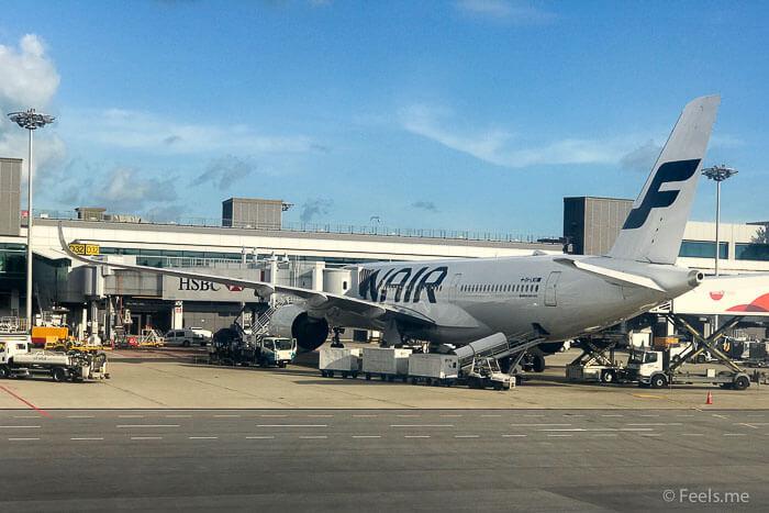 Air Asia SIN BKI Review Finnair A350