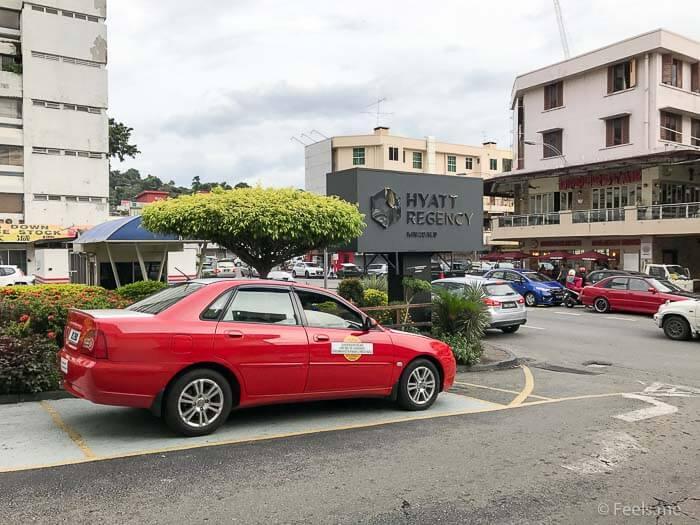 Hyatt Regency Kinabalu, Regency Suite Hotel Main Entrance