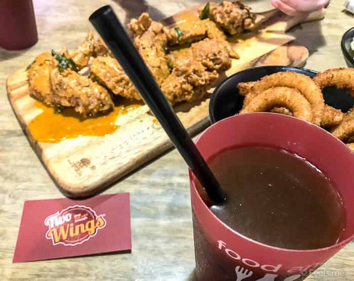 Two Wings' Salted Egg Yolk Fried Chicken Buddy Meal