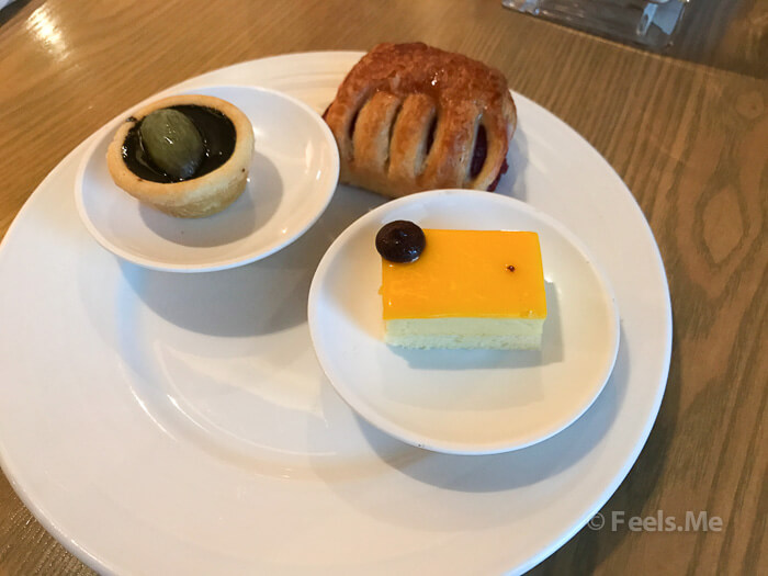 DoubleTree JB Executive Lounge Food Selection