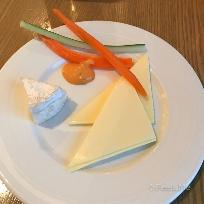 DoubleTree JB Executive Lounge Food Selection