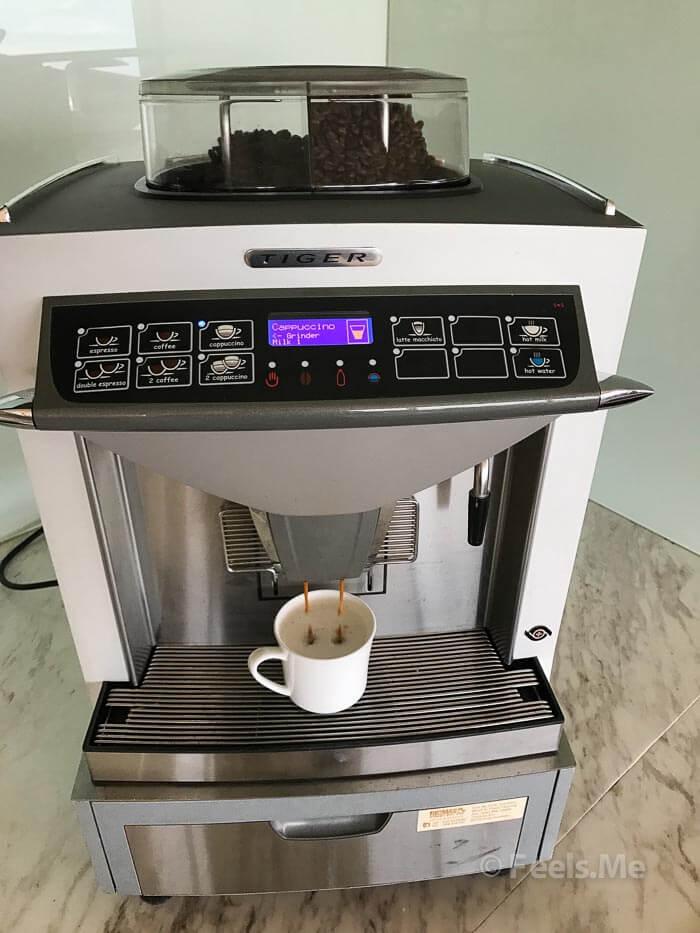 Hyatt Regency Kinabalu, Regency Club Coffee Machine