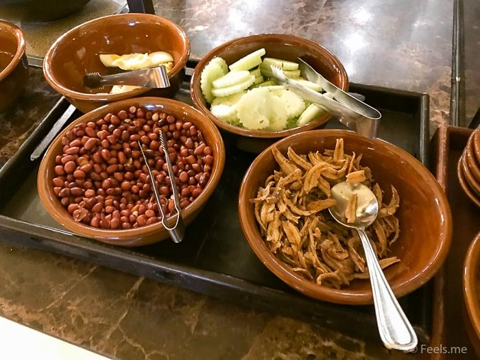 Hyatt Regency Kinabalu Breakfast Nasi Lemak