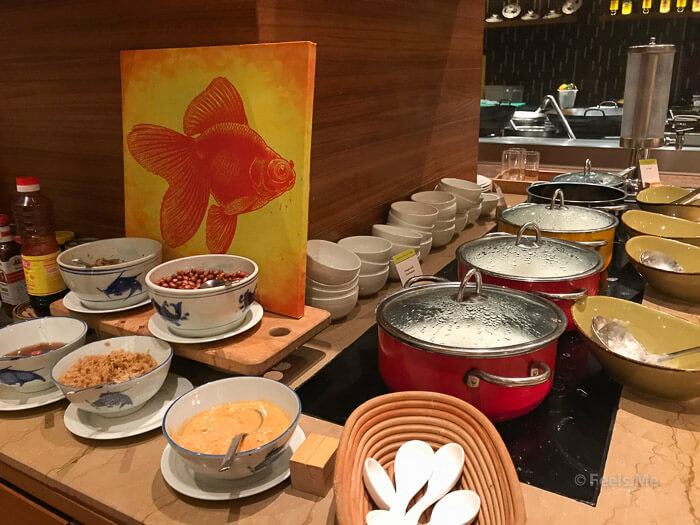 DoubleTree JB Makan Kitchen Buffet Breakfast Congee