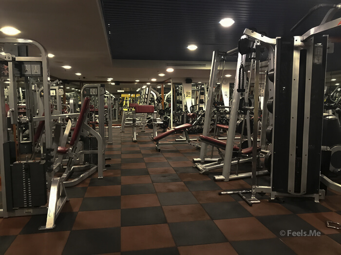 Hilton Petaling Jaya KL Gym equipments