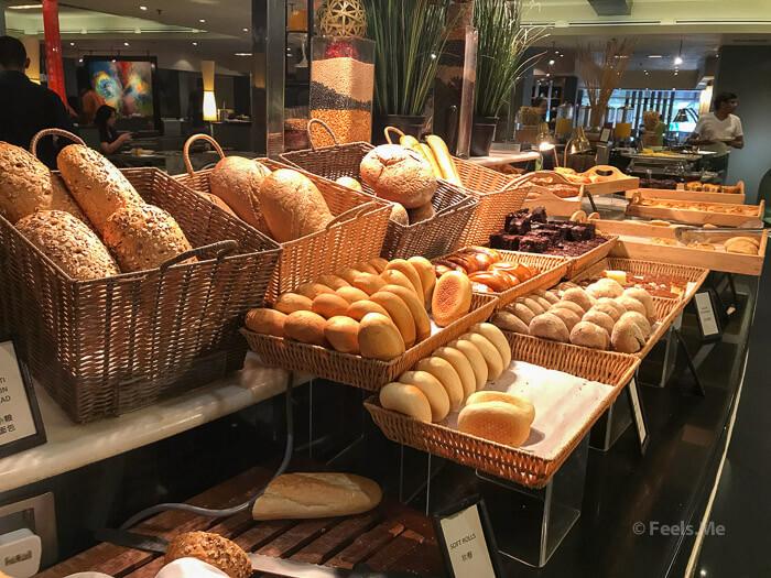 Hilton Petaling Jaya KL Bread