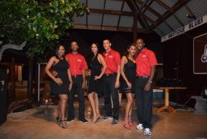 LPSVG exhibition dancers - performance in Mustique