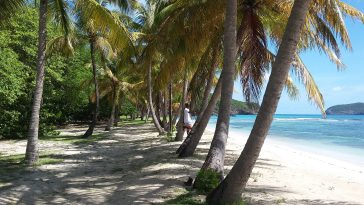 Lagoon Beach, Mustique Islands, St. Vincent & the Grenadines