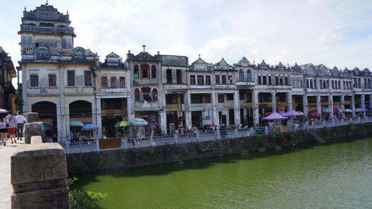 Shophouses in Chikan