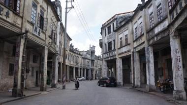 Winding street in Chikan