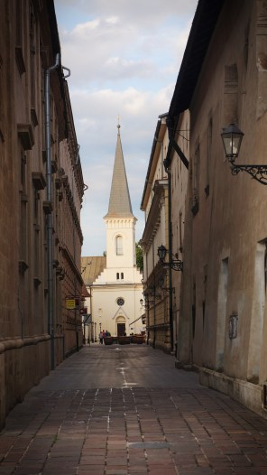 Alley leading to the Calvinist Church